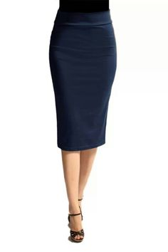 Modest Skirts: Womens midi length pencil skirts available in many colors at Apostolic Clothing