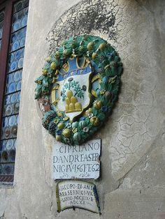 Closeup of a Magistrate's Seal, Palazzo Pretorio