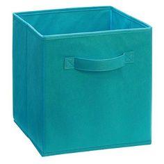 ClosetMaid 11530 Cubeicals Fabric Drawer, Ocean Blue, 2-Pack