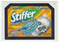 Wacky Packages All-New Series 2 # 4 Stiffer Corpse Dusters - Topps - 2005