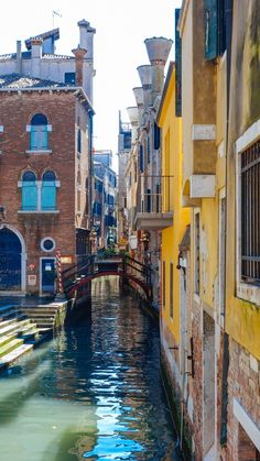 When you vacation in Venice, we recommend wandering the streets and bridges like a local. #travel #italy #venice #vacation #romance #bridge