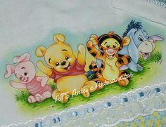 Fralda Passeio Pooh