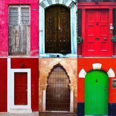 Doors by:  R1C1: @robertod5 R1C2: @pepechelito R2C1: @cylnctnky R2C2: @bette_ba R3C1: @myjetguru R3C2: @sparta411  Congratulations!  Tag #windowsanddoorsoftheworld to be featured!
