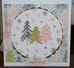 Peppermint Forest by Craftwork Cards. Made by Jane Compton
