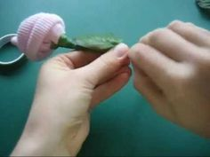 Baby sock rose  Tutorial - great idea for a baby shower gift.