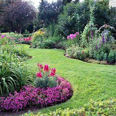 garden ideas curves - Google Search