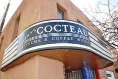 The Jean Cocteau Cinema is owned by Game of Thrones George R.R. Martin. Find out why it's cool on 10best.com. #SantaFe #movies #!0best.com