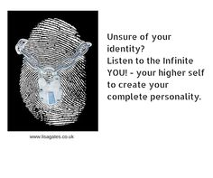 * I'm running a workshop on this - click here to book. http://www.redmilestudio.co.uk/unlockyourspiritualid.htm