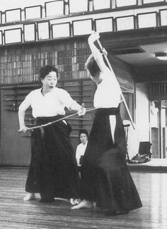 Jikishin Kage-ryu. Training in Jikishin Kage-ryu kusarigama