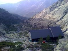 Refuge de Tighjettu, Day 4, GR20, Corsica. This is where we spent our first wedding anniversary night...well camped about 20m up the hill from the refuge.