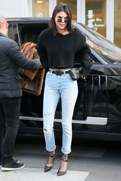 Why, Yes, Kendall Jenner Is Indeed Wearing A Chanel Fanny Pack+#refinery29