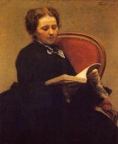 Henri Fantin-Latour (1836-1904) - Victoria Dubourg, 1873