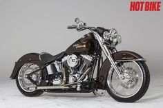The devil is in the details for this custom Softail