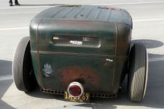 """Now that's a tail """"light"""" Model A Rat Rod, Pedal Cars, Street Rods, Ford Models, Kustom, Tail Light, Plastic Models, Rats, Cool Cars"""