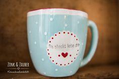Keramik bemalen- Lieblingstasse