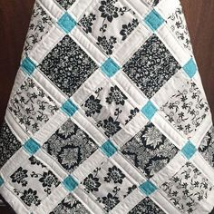 17. Just a #Touch of Color - 54 #Awesome Quilts to Get You #Inspired to do Some Sewing ... → DIY #Keepsake