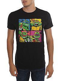 HOTTOPIC.COM - Teenage Mutant Ninja Turtles Boxes T-Shirt