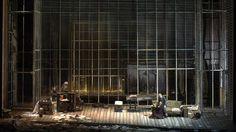 Clasicismo y actualidad. De Ana vincula la obra de Massenet con los días que corren, respetando su marco histórico. (Foto: Arnaldo Colombaroli - Gentileza Teatro Colón)