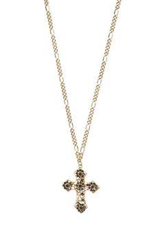 MANGO - Cross pendant necklace