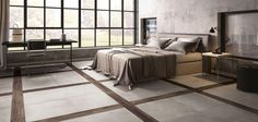 No 1444 Distinctive Floor Design with this porcelain range