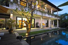 Bali, Indonesia • Villa Bahagia Luxury Contemporary Villa Canggu • VIEW THIS HOME ► https://www.homeexchange.com/en/listing/349835/