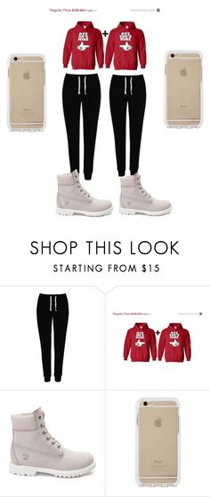 """""""love couple"""" by byrdty ❤ liked on Polyvore featuring George, Timberland, women's clothing, women, female, woman, misses and juniors"""