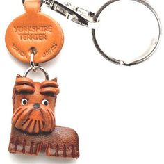 Yorkshire Terrier Keychain, $15, now featured on Fab.