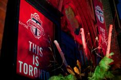 The new TFC kit unveiled at The Berkeley Church at the launch party Toronto Fc, Launch Party, Product Launch, Neon Signs, Kit, News, Events, Blog, Blogging