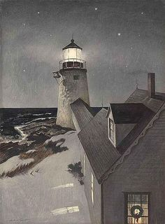 Andrew Wyeth - Snowy Morning