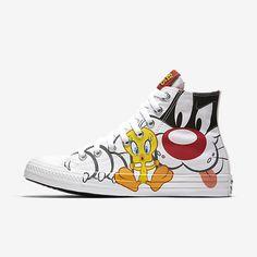 Converse Chuck Taylor All Star Sylvester & Tweety High Top Unisex Shoe