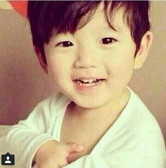 Baekhyun baby picture.... Absolutely adorable!!!!