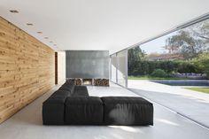 #Architecture in #Germany - #LivingRooms by Architekten Wannenmacher + Möller
