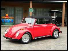 1969 Volkswagen Beetle Convertible....my very first brand new car!!