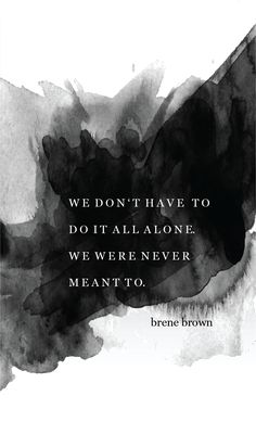 Brene Brown quote: Rising Strong.
