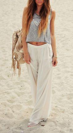 // light beach wear