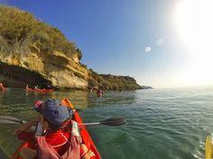 Kayak des plages de Burriana à Maro, Malaga - Costa del Sol