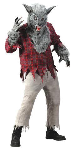ADULT GREY WEREWOLF - Halloween Costume