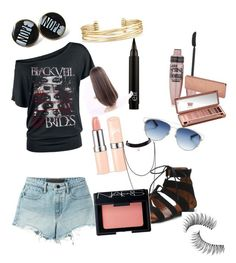 """""""Summer outfit"""" by ellaschaeffer on Polyvore featuring beauty, T By Alexander Wang, Maybelline, Christian Dior, Stella & Dot, NARS Cosmetics, Trish McEvoy and Urban Decay"""