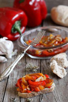 MIEL & RICOTTA: Peperoni conditi
