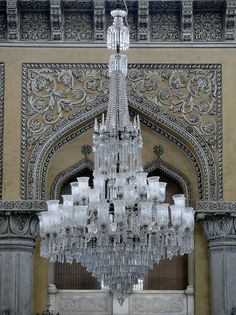 Chowmallah Palace Ceiling Chandelier, Chandeliers, Ceiling Lights, Indian Architecture, Busses, Forts, India Travel, Incredible India, Hyderabad