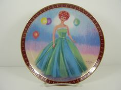 Danbury Mint High Fashion Barbie Plates Barbie Plates High Fashion
