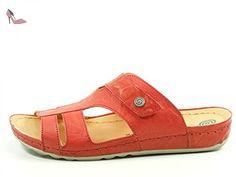 703790, Chaussures femme - Blanc (brun/CUIR), 38 EUDr. Brinkmann