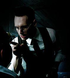 Cory Michael Smith as Edward Nygma (Gotham) Gotham Show, Gotham Cast, Gotham Tv, Gotham Girls, Edward Nygma Gotham, Penguin And Riddler, Riddler Gotham, Gotham Characters, Jerome Gotham