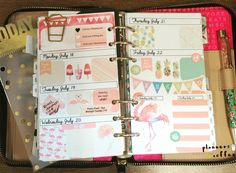 This week before I marked it all up  #plannersandcoffee #planneraddict #plannerlayout