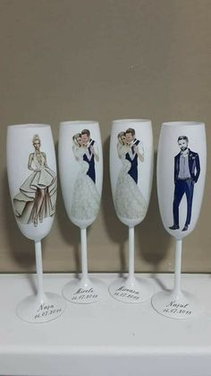 Wine Glass Candle Holder, Candle Holders, Handmade Decorations, Wedding Decorations, Wedding Toasting Glasses, Wedding Toasts, Dress Sketches, Wedding Designs, Ale