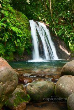 Cascade aux Ecrevisse Guadeloupe - France
