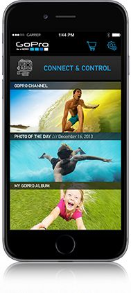 GoPro App – Control your camera. View and share content. Watch the GoPro Channel.