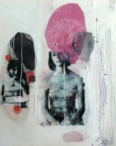 "Artist: Giulia Tamanini -  ""SLB4"" ( Art / Painting / Collage / Mixed Media )"