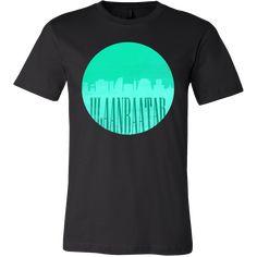 Ulaanbaatar Skyline Horizon Sunset Love Mongolia Gift Shirt