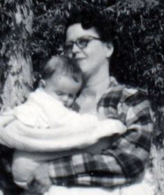 Donny Osmond and mom when he was a baby awwww!!!